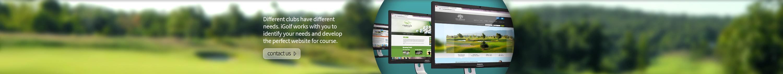 Golf Course Website Designers