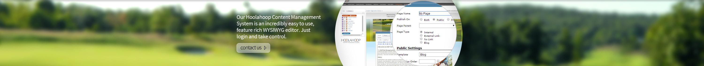 Golf course Content Management Systems